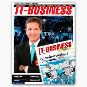 Früher informiert sein: die IT-BUSINESS 10/2017