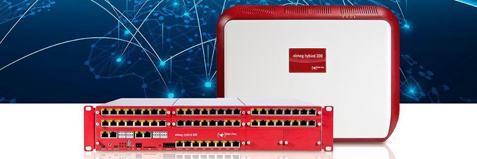 Die modularen Kommunikationslösungen Elmeg Hybird 300 und 600 sind ab sofort als All-IP-Varianten erhältlich.