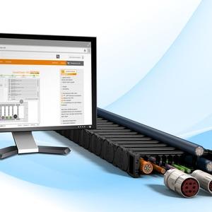 Online-Tool zur Konfiguration und Lebensdauerberechnung von Energiekettensystemen
