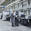 Richt- und Entgratmaschine zu Industrie-4.0-System verkettet