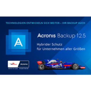 Acronis Backup 12.5 mit Management-Konsole
