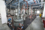 The new plant is equipped with the most up-to-date technologies and materials for producing a wide range of chemicals.