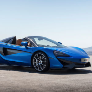 McLaren 570S Spider: Offener Supersportler
