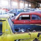 Scheunenfund: Volvo-Oldtimer und Ersatzteile