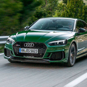 Audi RS5: Downsizing Dampfhammer