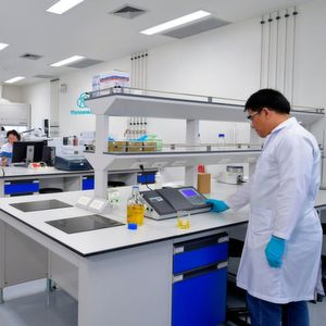 Laboratory in the Oleochemical cluster in Map Ta Phut.