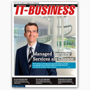 Eset-Chef Stefan Thiel will den Channel mit Managed Security Services ködern.