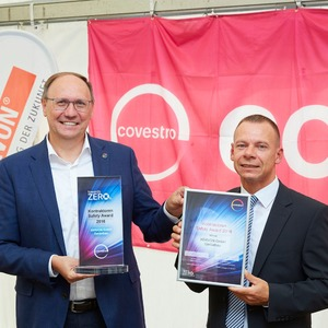 Covestro vergibt Safety-Award an Xervon Gerüstbau