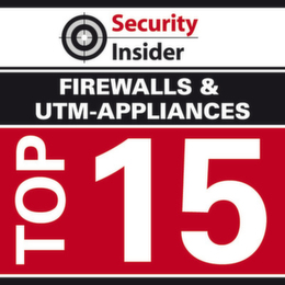 Die Top 15 Firewalls und UTM-Appliances