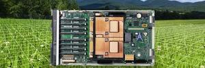 Energieeffizienter Hochleistungsrechner IBM Bladecenter QS22