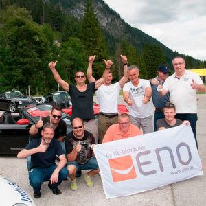 Alpenpanorama satt mit Eno