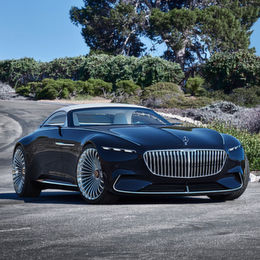 Maybach Vision 6: Sechs Meter purer Luxus