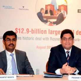 The acquisition of Essar represents Russia's largest ever foreign investment, as well as India's largest FDI.