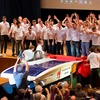 Sonnenwagen team presents solar race car for Challenge 2017