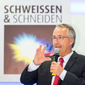 Oliver Kuhrt, CEO of Messe Essen.