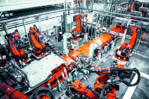 Automatic solutions in-line with Industry 4.0 at Kuka.