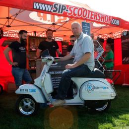 SIP Scootershop auf der Isle of Wight
