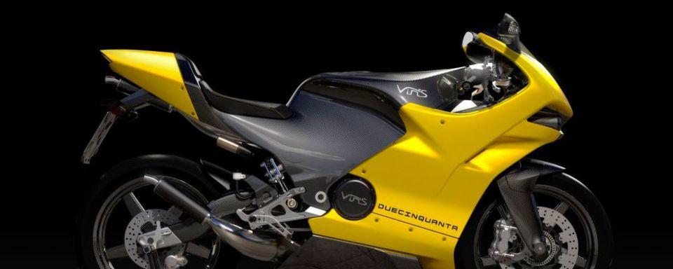 Duecinquenta, also 250, heißt die neue Zweitakt-Rakete von Vins Motors.