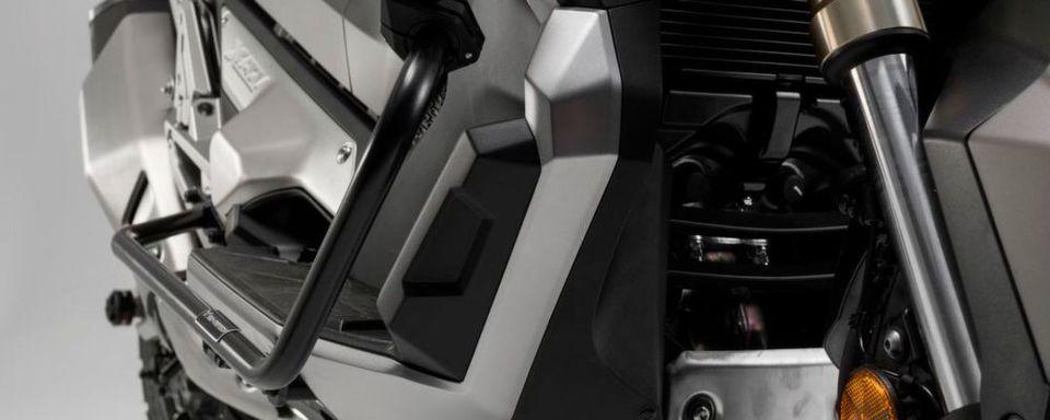 Sturzbügel von SW-Motech sollen das nötige Plus an Sicherheit für Tank, Verkleidung und Komponenten geben.