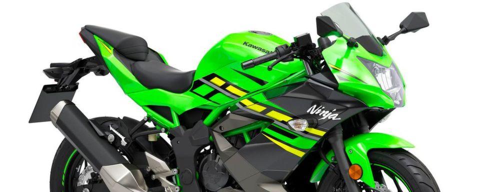 Die Ninja 125 ist im Styling stark von den Bikes der World-Superbike Series beeinflusst.