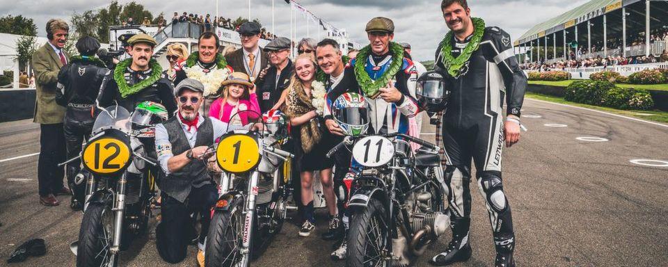 Beim Goodwood-Festival gehen Traumfahrzeuge aller Altersklassen an den Start.