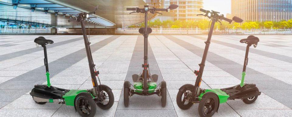 Die Regelungen bei der Nutzung von E-Scootern sind für viele undurchsichtig.