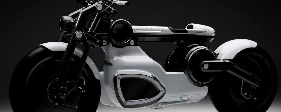 Auf der EICMA in Mailand zeigt Curtiss sein für 2020 angekündigtes E-Motorrad Cafe.