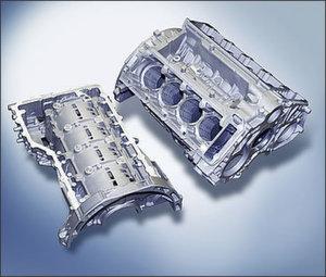 Leichtmetallprodukte für die Automobilindustrie bilden den Produktionsschwerpunkt von Honsel in Meschede. Bild: Honsel