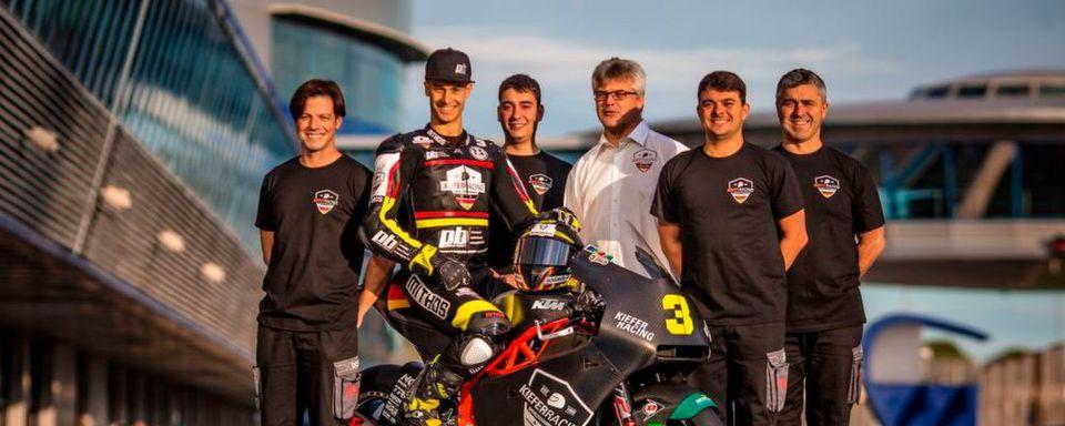 Lukas Tulovic wird 2019 für das Kiefer-Racing-Team in der Moto2-Weltmeisterschaft an den Start gehen.