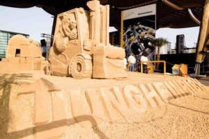 Ganz und gar nicht auf Sand gebaut ist die wirtschaftliche Entwicklung bei Jungheinrich. Auftragseingang und Umsatzerlöse des Staplerherstellers legten zweiten Quartal 2008 zum Vorjahrs deutlich zu.