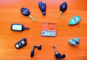 Bild 1: Funkschlüssel, die bei Fischer geschweißt wurden. Bilder: Fischer