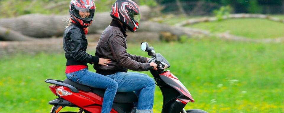 Neuer Schub für die Mobilität junger Menschen? Im Bild der Kymco Agility RS 50.