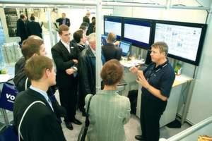 Volle Hallen erwartet die Messe München für die Maintain 2008. Das Ausstellungsspektrum reicht von Instandhaltungsdienstleistungen über Überwachungstechnik, Reinigungsmaschinen bis Nachwuchsgewinnung. Bild: Messe München