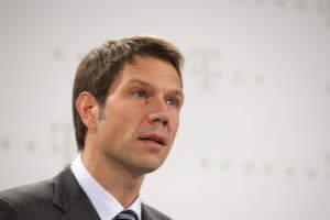 René Obermann, Vorstandsvorsitzender der Deutschen Telekom