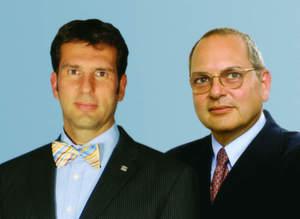 Die Geschäftsführenden Gesellschafter der Wachendorff-Gruppe: Dr. Peter Wachendorff (re.) und Dipl. Wirt.-Ing. Robert Wachendorff