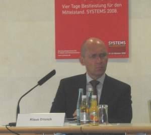 Klaus Dittrich, Geschäftsführer der Messe München, kündigte bereits am zweiten Messetag an, dass es 2009 »eine Systems in dieser Form« nicht mehr geben werde – auch der Name verschwindet.