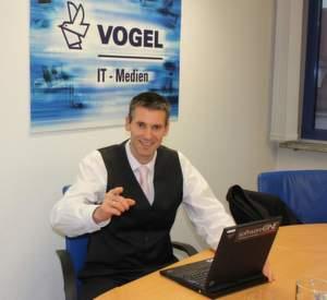Reinhold Käfer, Deutschland-Geschäftsführer bei Software One, zu Besuch bei IT-BUSINESS.