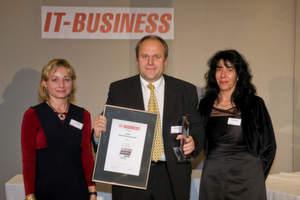 Der Gold-Award in der Kategorie Value Added Distribution ging an Matthias Bodry von Bytec.