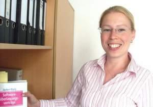Annett Barth, Mitglied der Geschäftsleitung bei Delta Barth