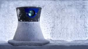 Für harte Einsätze – auch in Outdoor-Umgebungen oder im Tiefkühlbereich – eignet sich der Kollmorgen-Lasernavigationssensor LS5 Navigator für FTS.