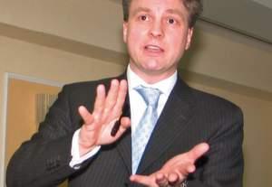 """Thomas Becker, Geschäftsführer der Bonfiglioli Deutschland GmbH ist für 2009 optimistisch: """"In den vergangenen fünf Jahren haben wir den Umsatz in Deutschland mehr als verdoppelt."""" Bild: Schäfer"""