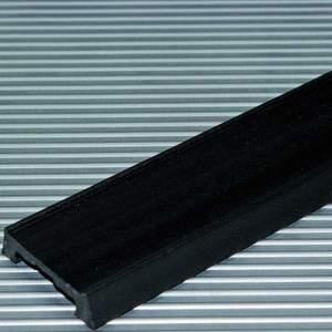 Bild 1: Bei einem ähnlich niedrigen Reibbeiwert wie dem von Polyethylenprofilen hält diese Gleitführung einer erheblich höheren Druckbelastung stand.