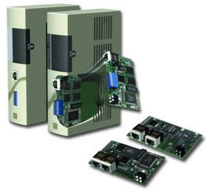 Einbaufertige Anybus-Kommunikationsmodule erleichtern die Realisierung einer Kommunikationsschnittstelle für Industrial Ethernet. Der Einsatz erspart bis zu 70 Prozent Entwicklungskosten und verkürzt die Time-to-Market