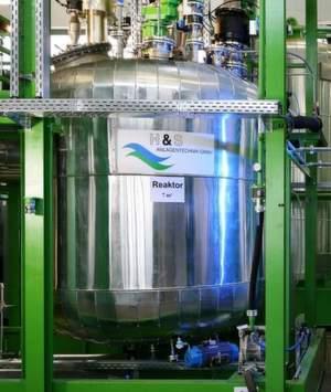Reaktor zur Synthese von APP (Polyol) aus PET