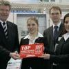 """Mit Gütesiegel """"Top-Arbeitgeber Deutschland 2009"""" ausgezeichnet"""