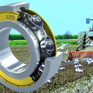 Bild 1: Rillen-kugellager in landwirtschaftlichen Geräten müssen extrem belastbar sein.