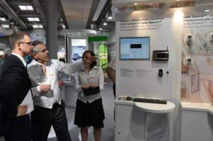 Der Messgeräte-Hersteller Testo präsentiert auf der Hannover Messe unter anderem das Monitoring-Messsystem testo Saveris.