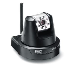 """Die """"EZ Connect Vision"""" Wireless Pan Tilt Zoom IP-Kamera von SMC oder auch: """"SMCWIPCAM-PZ"""""""