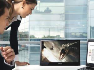 Neue Konzepte wie Lapfit von Samsung sollen den Display-Markt beleben.
