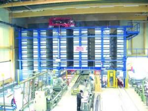 Ein neues Langgut-Lager von Trafö für die in der Produktion verwendeten Profile sorgt beim Solaranlagen-Spezialisten Winkler Solar für mehr Effizienz in der Produktion.